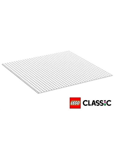 Lego 11010 Lego® Classic Beyaz Taban /1 Parça / +4 Yaş Renkli